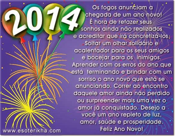 Mensagem De Feliz Ano Novo Para Tio Que Deus Abençoe Toda: Seja Bem Vindo 2014 - Feliz Ano Novo