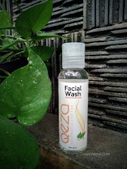 REVIEW : Qeza Facial Wash Normal Green
