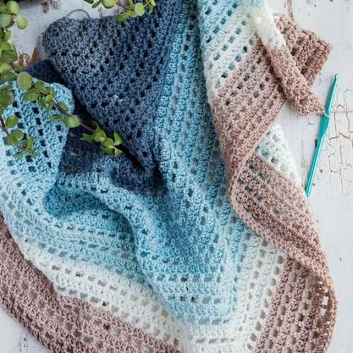 Crochet Wishing Well Wrap - Easy Tutorial