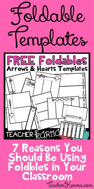 free foldable templates with hearts classroom freebies bloglovin