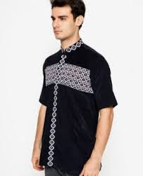 Model Busana Muslim Pria Polos Desain Bermotif Keren Dan Trendy