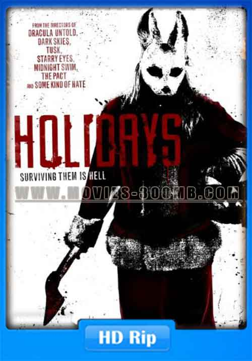Holidays 2016 WEB-HDRip 250MB Poster