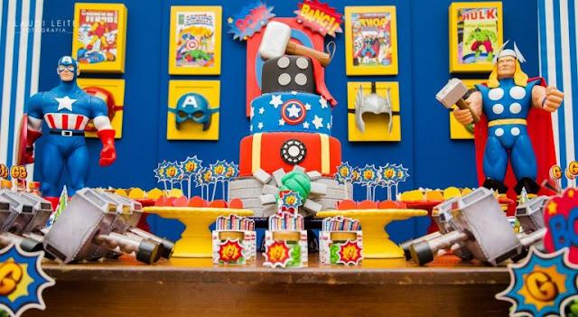 Confira algumas inspirações de temas para festa infantil