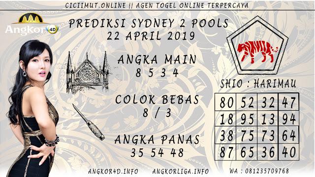 Prediksi Angka Jitu SYDNEY 2 POOLS 22 APRIL 2019