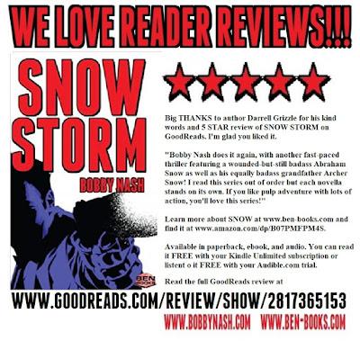 www bobbynash com: A 5 STAR SNOW STORM!