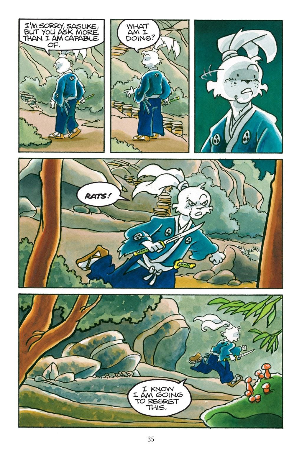 Read online Usagi Yojimbo: Yokai comic -  Issue # Full - 34