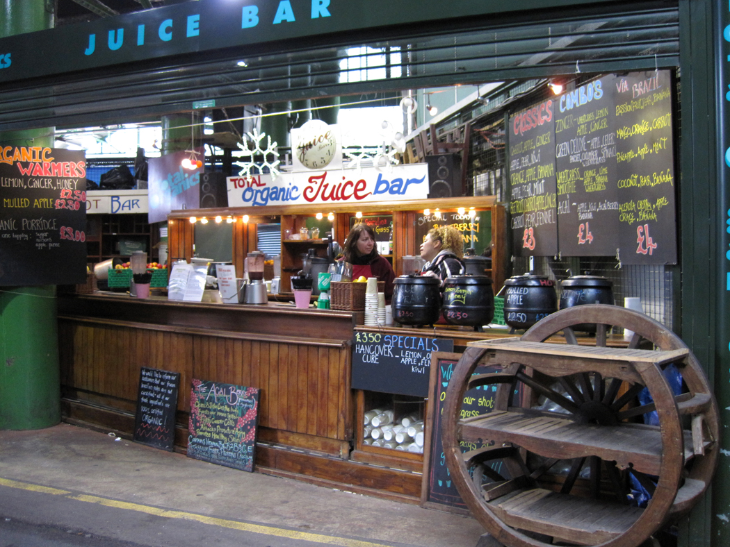 Borough Market Juice Bar