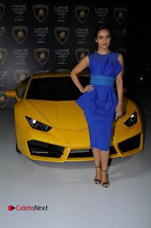 Actress Neha Sharma Latest Stills in Blue Dress at Lakme Fashion Week Summer Resort 2017  0004.jpg