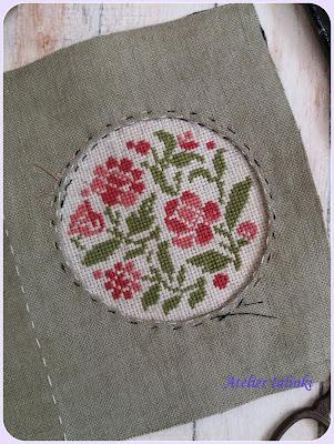 как пошить органайзер для рукоделия вышивка крестом , декоративное оформление вышивки , оформление вышивки
