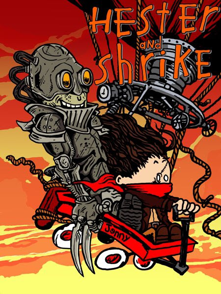 Calvin and Hobbes do Mortal Engines by @ZugMichael