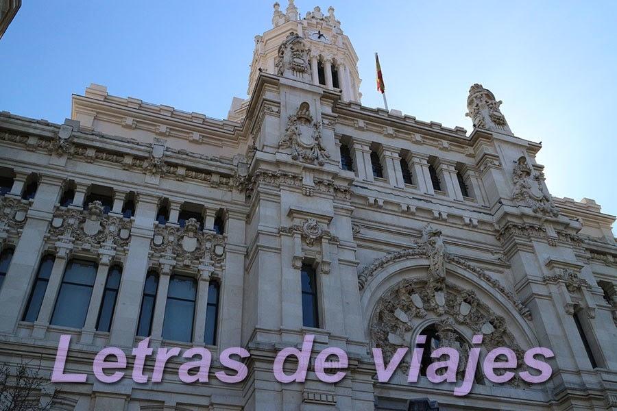 Letras De Viajes España Madrid Restaurante Palacio De