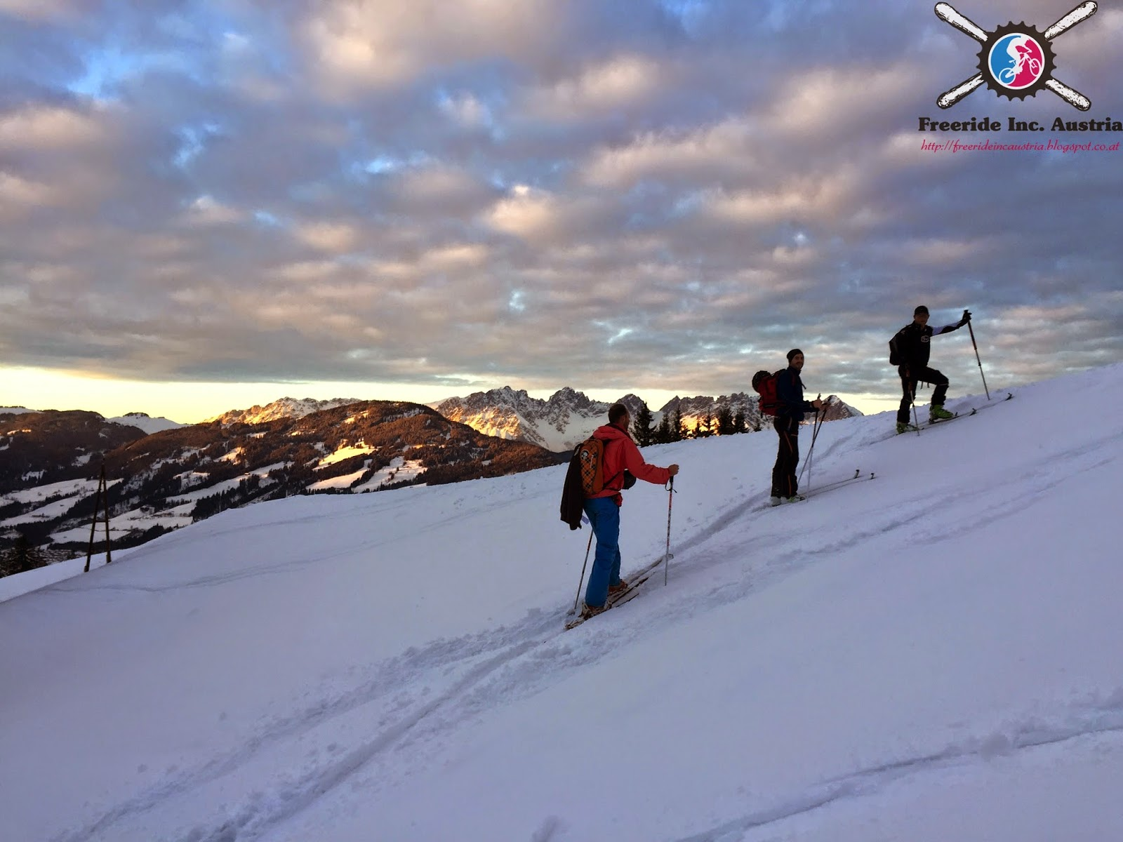 Skitour aufs Maierl