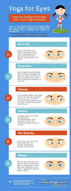 how to improve eyesight by yoga
