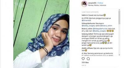 Remaja Cantik Asal Maluku Ini Menjadi Viral Karena Memiliki Kumis Cukup Tebal