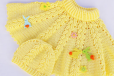 3-Majovel Crochet Gantillo Imagen Hermoso gorro a crochet juego con la capita amarilla