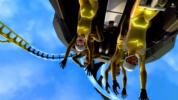 Lançamento do jogo ScreamRide simulador de montanha-russa
