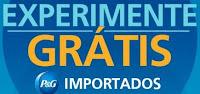 Promoção Experimente Grátis Importados P&G experimenteimportadospg.com.br
