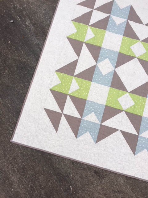 ECHO Quilt - Kristy Daum || OLFA Creator - January 2019 #quilting #sewing #babyquilt #quiltpattern