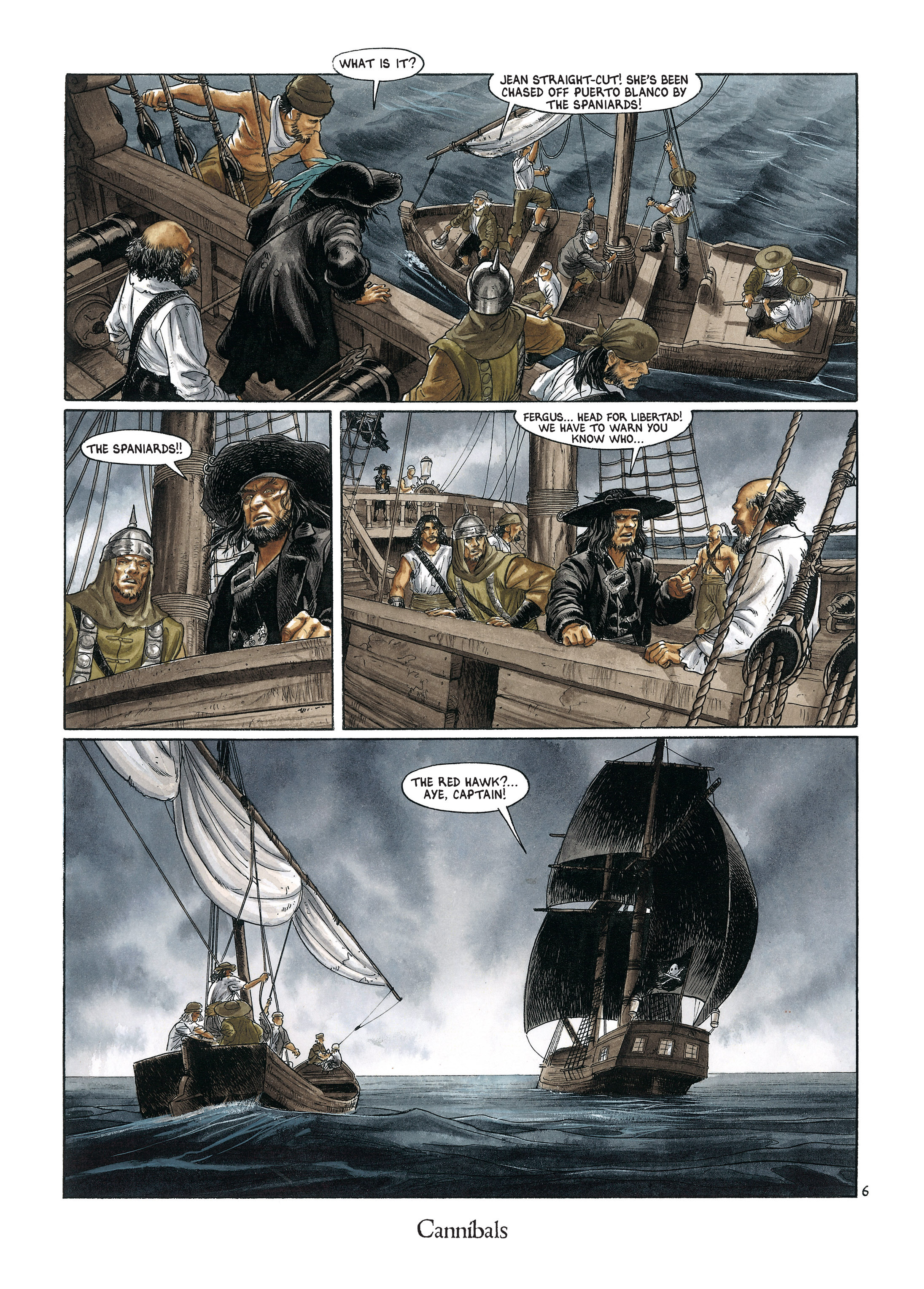 Read online Barracuda comic -  Issue #4 - 65