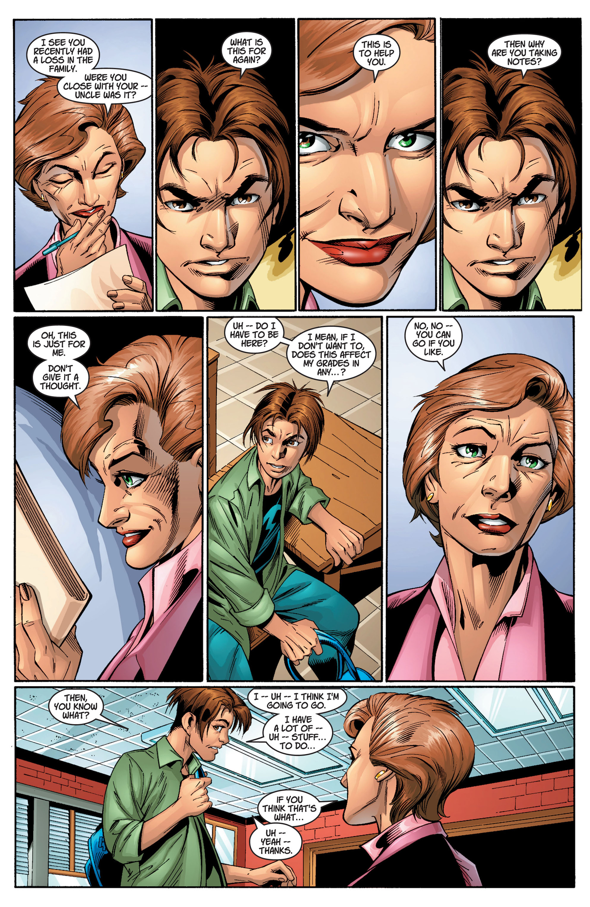 Read online Ultimate Spider-Man (2000) comic -  Issue #11 - 6