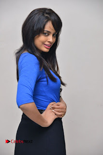 Actress Nandita Swetha Stills in Black Mini Skirt at Ekkadiki Potavu Chinnavada Movie Special Show  0033.JPG