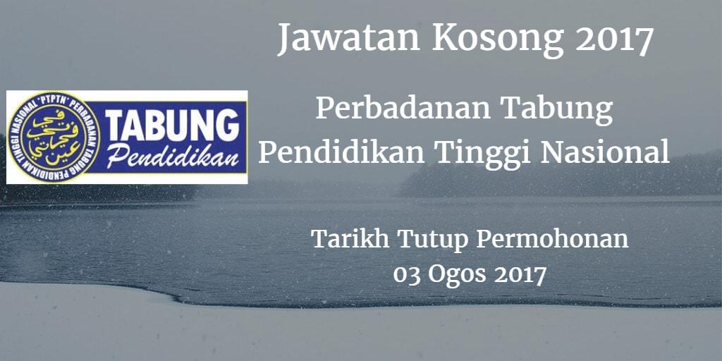 Jawatan Kosong PTPTN 03 Ogos 2017