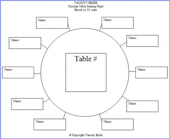 Free Table Plan Template | Resume Business Template