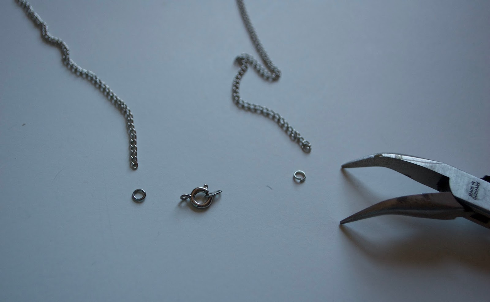 Wedding Ring Necklace 48 Vintage Use needle nose pliers
