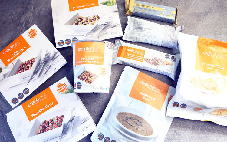Foodie Friday: Exante Diet Meals, Bars, Soups & Snacks - Vegetarian Taste Test review