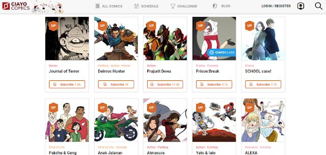 Koleksi Komik Buatan Indonesia Online - Blog Mas Hendra