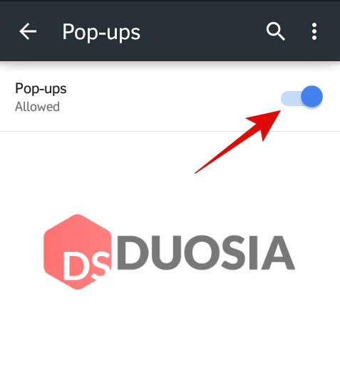 blokir pop up di google chrome android