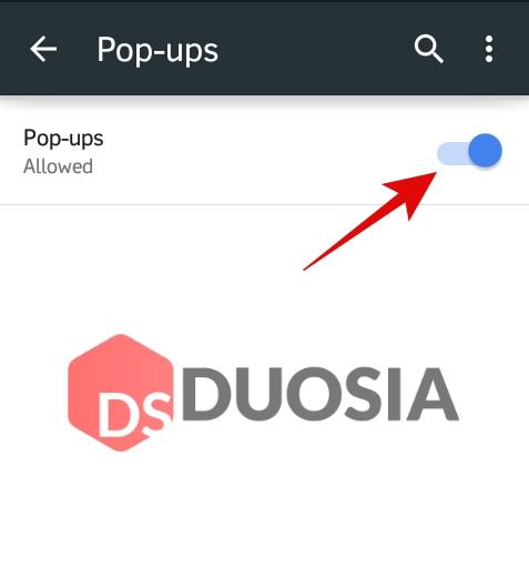 blokir pop up di google chrome android