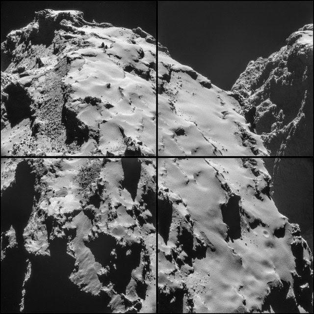 Rossetta y su módulo Philae en el cometa 67 P, Ancile, Francisco Acuyo