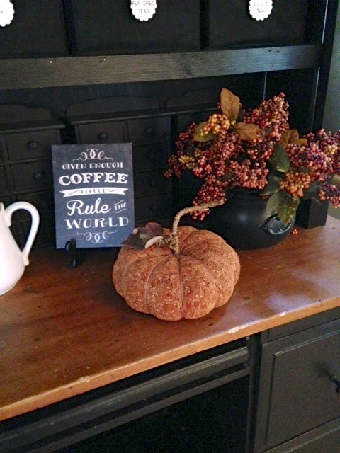 fall decorating