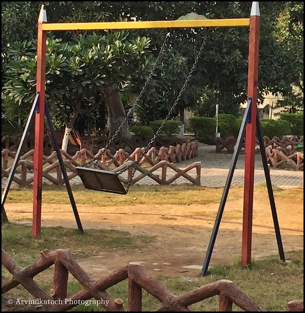 empty, Swing, Motion, Nawanshahr, Baradari, garden,
