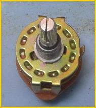 Gambar dan Keterangan Rotary Switch/ Saklar Putar