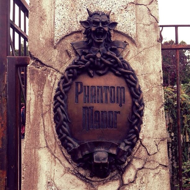 Phantom Manor, Disneyland Paris, Haunted House