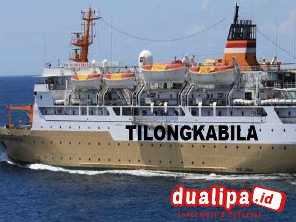 Jadwal Kapal Pelni Tilongkabila bulan Oktober 2021