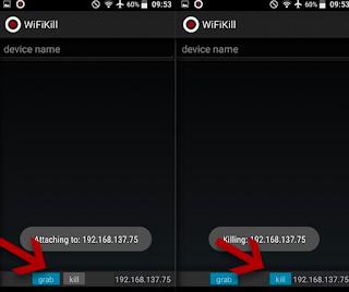 Cara mudah memutuskan Koneksi Intenet Wifi Orang Lain Menggunakan Android