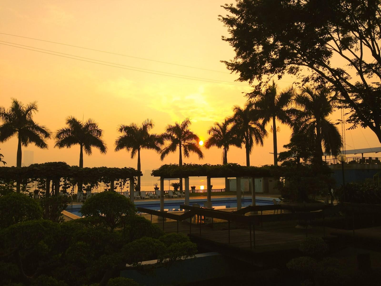 sunset-vietnam ベトナムの夕日