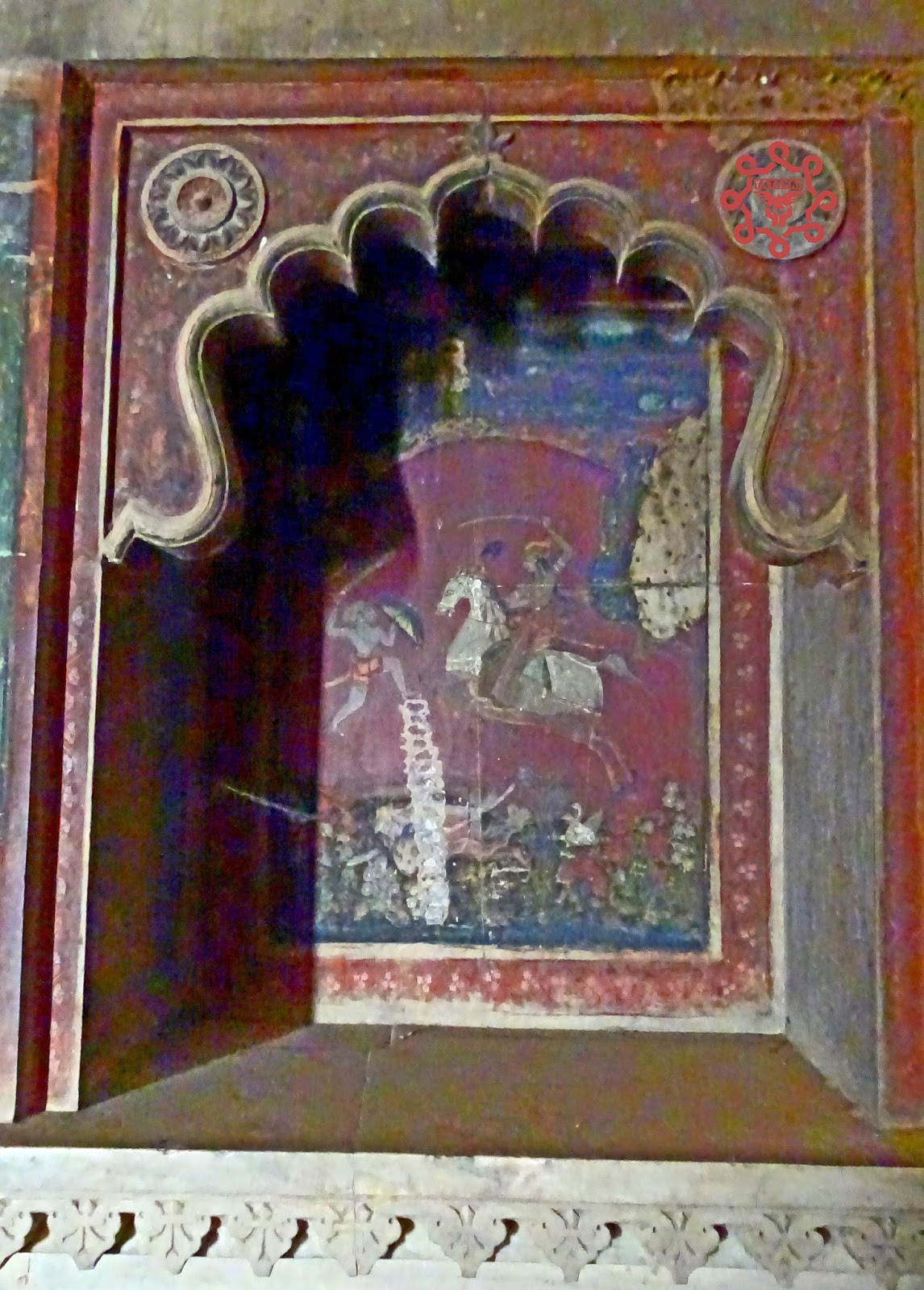 Murals On Walls Of Taragarh Fort
