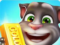 Talking Tom Gold Run Apk Mod v1.0.11 (Infinite Gold Bars)