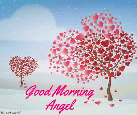 good morning my beautiful angel images