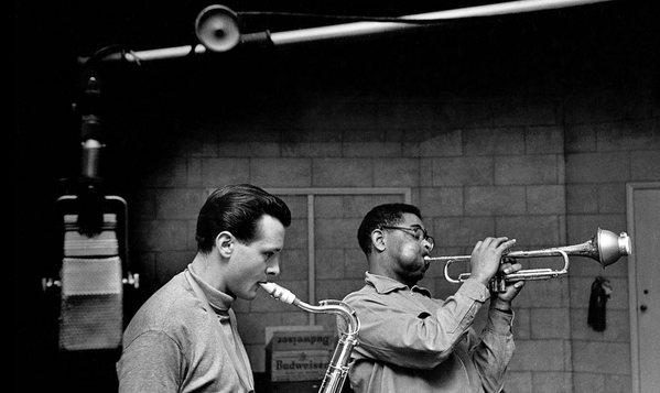 Stan Getz and Dizzy Gillespie, 1953
