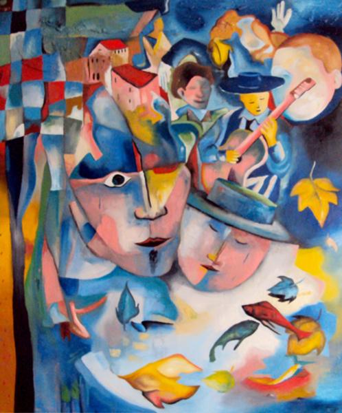 Quando os Anjos Gritam - Bruno Netto e suas pinturas ~ Pintor português