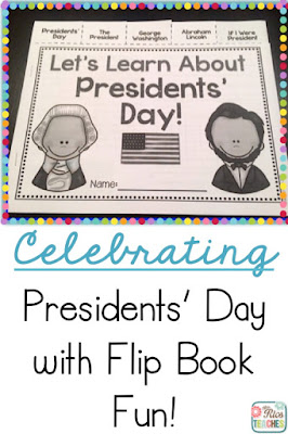 Mrs. Rios Teaches: Presidents Day Flip Book - writing and reading activities, vocabulary ideas.