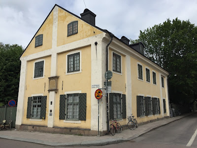 The Linnaeus Museum in Uppsala.