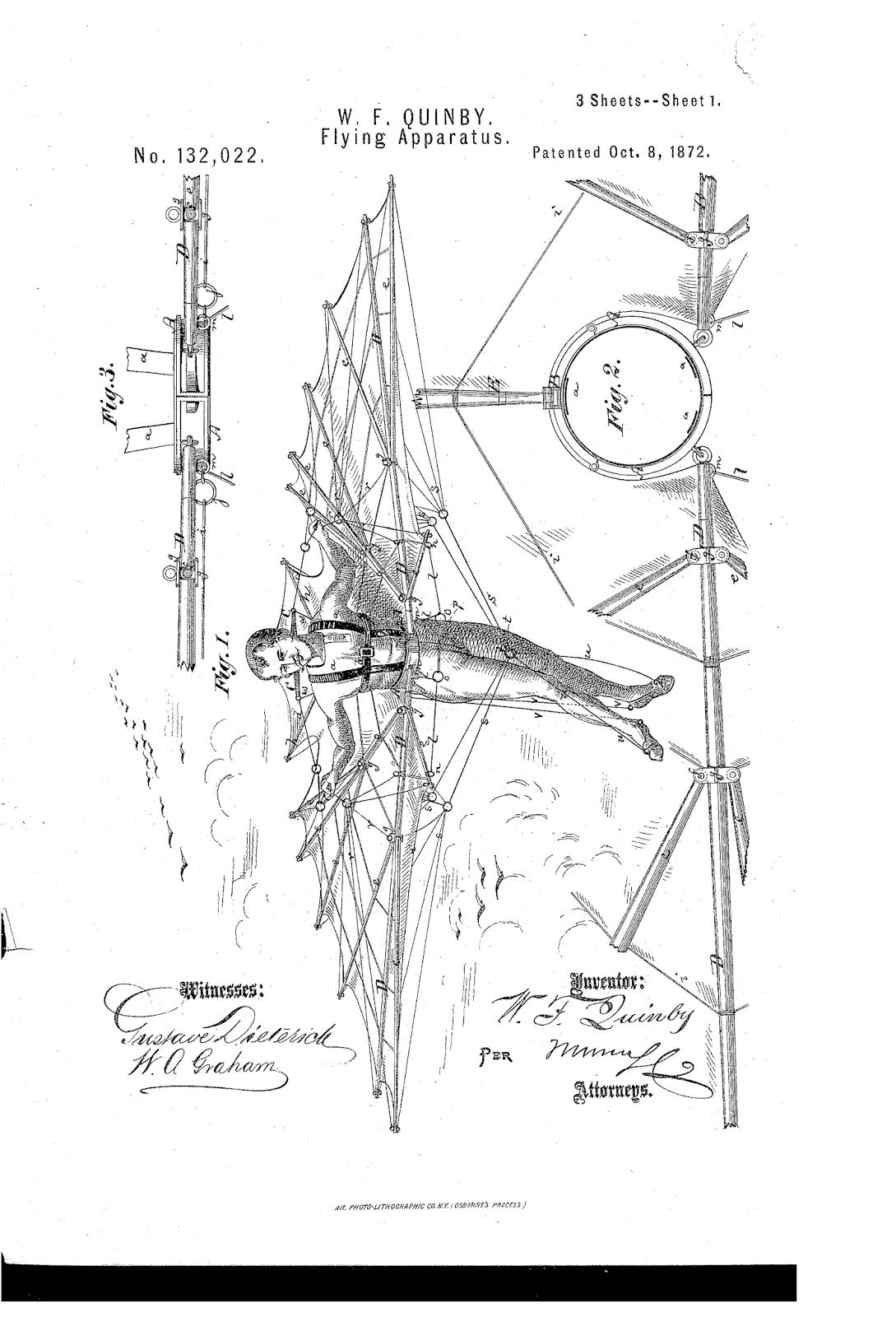 The Patent Search Blog Bizarre Human Powered Flight Patents