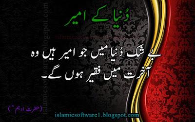 Quotes of Hazrat Ibrahim Bin Adham