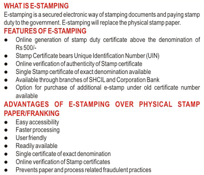e-Stamping